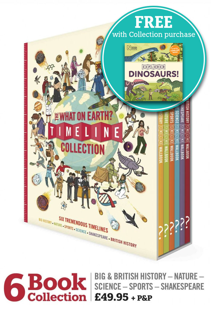 Collection - 6 Book - Plus Dino